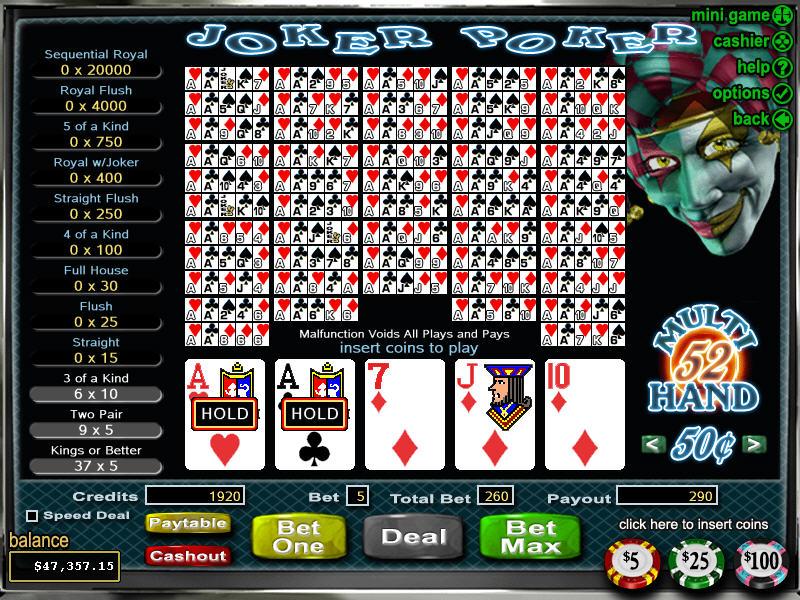 online casino schweiz joker poker